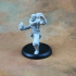Human Male Sorcerer (32mm Scale Miniature) image