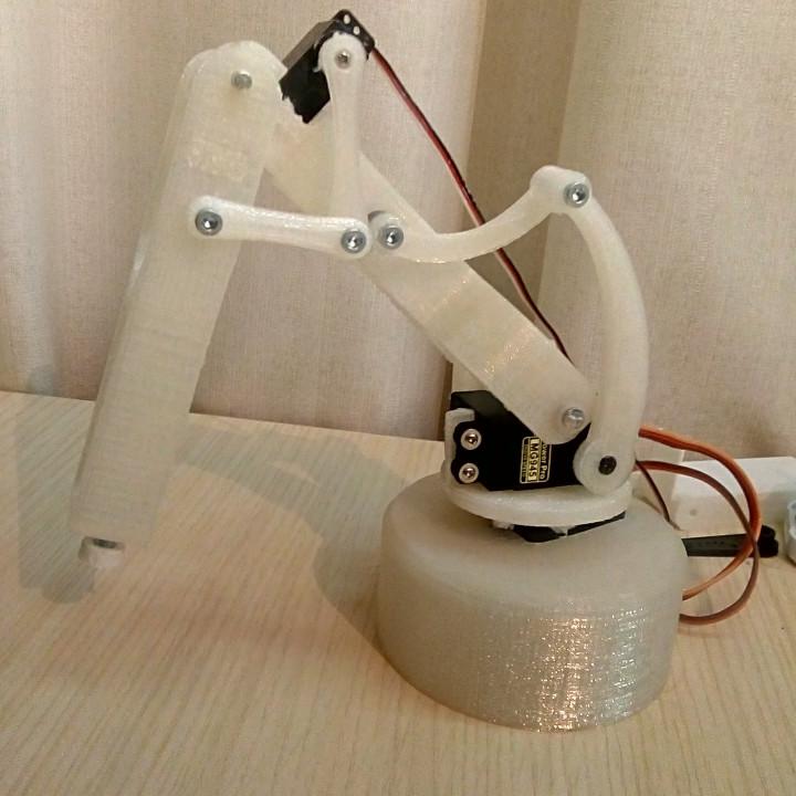 Button presser - Robot Arm