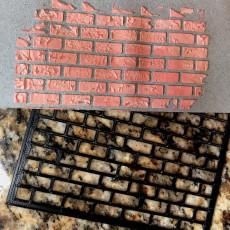 Stencil - Bricks!