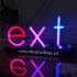 Custom Letters Lamp with WS2812 LED image