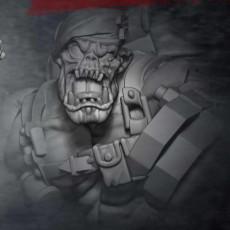 Orc Kommando Blitz leader