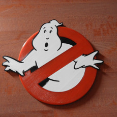 Picture of print of Ghostbusters Logo Coaster MM