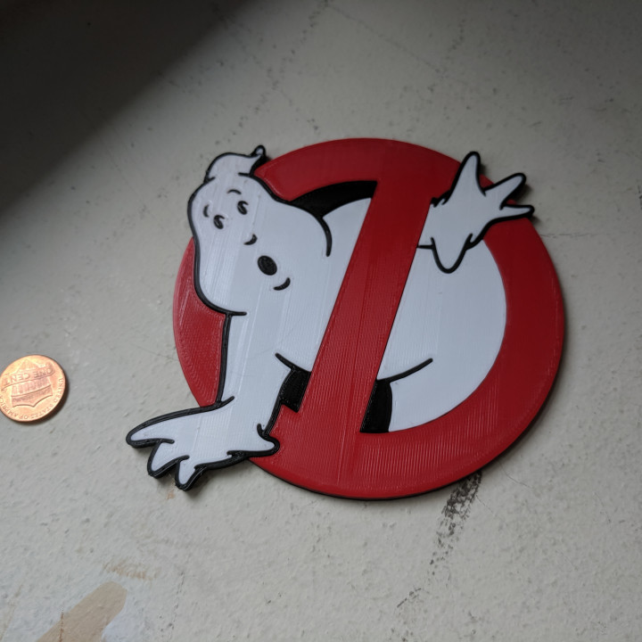 Ghostbusters Logo Coaster MM