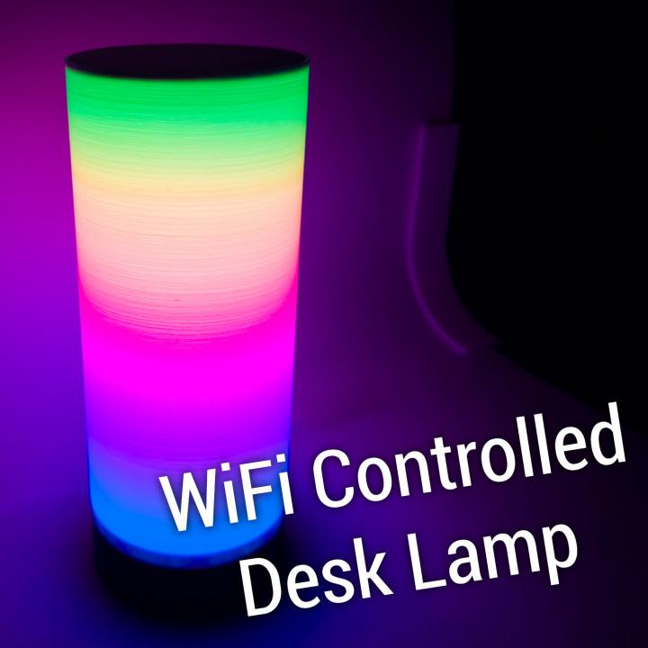 WiFi controlled Desk Lamp