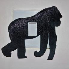 Gorilla lightswitch cover