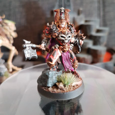 Picture of print of Berserk chaos warrior leader