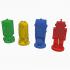 Labyrinth Robot characters 4 piece set image
