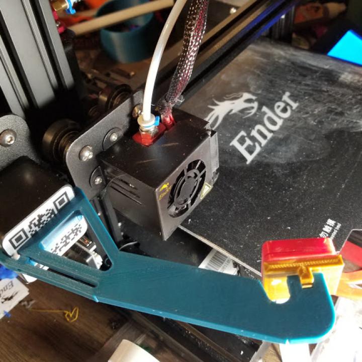 Extra Long Pi Camera Mount for Ender 3 / Ender 3 Pro