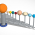 3D4KIDS exercise: The Solar System image