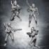 Female space alien warriors image