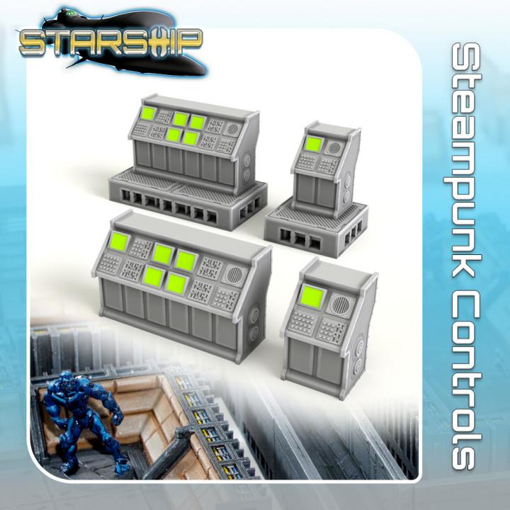 Steampunk Controls