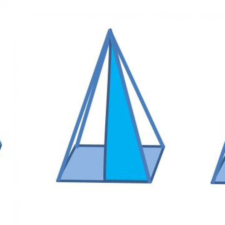 3D4KIDS exercise: The Pyramid