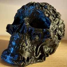 Picture of print of Fancy Skull 2 - FREE! (Low Res)