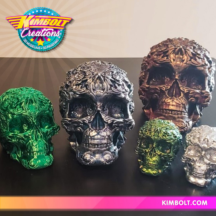 Fancy Skull 2 - FREE! (Low Res)