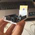 arduino UNO + mini breadboard mount image