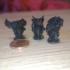 Ms Hibou, Mr Lion, and Mr Bull image