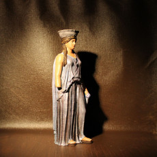 Picture of print of Copy of Caryatid C, Erechtheion of the Acropolis