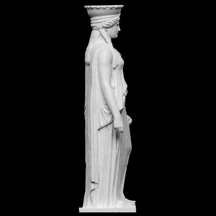 Copy of Caryatid C, Erechtheion of the Acropolis