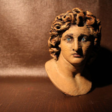 Picture of print of Ideal Portrait of Alexander the Great as Helios