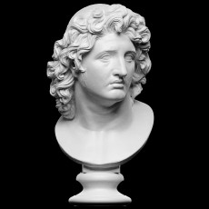 Ideal Portrait of Alexander the Great as Helios