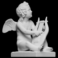 Cupid Playing the Lyre