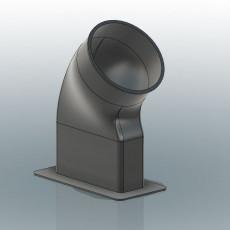 10cm diam tube for window smells extractor
