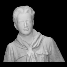 Bust of the Ideal Scout