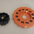 Geeetech A10 Bed Levelling Knobs Wheels image