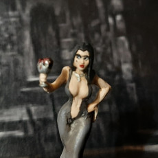 Picture of print of Vampire Girl