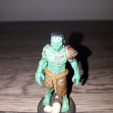 Picture of print of Frankenstein's Monster