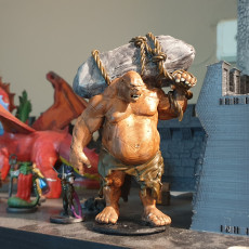 Picture of print of Ogre - D&D Miniature