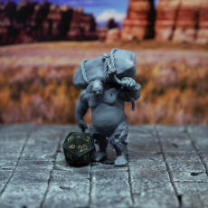 Picture of print of Ogre - D&D Miniature This print has been uploaded by Lance Miller