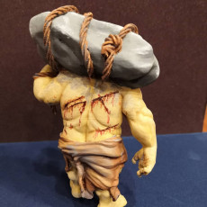Picture of print of Ogre - D&D Miniature This print has been uploaded by Maxim