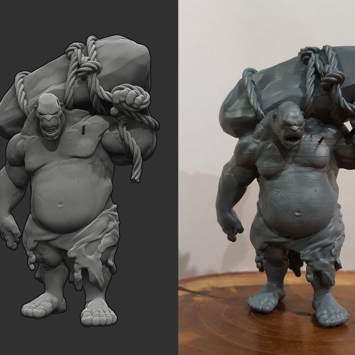 Ogre - D&D Miniature
