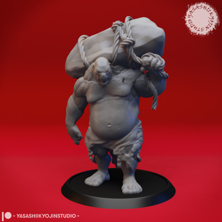 Ogre - Tabletop Miniature