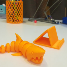 Picture of print of Articulated Shark