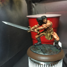 Picture of print of Barbarian