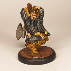 Picture of print of Dwarf hero