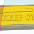 Vernier Caliper Box KEEP OFF message sliding lid version image