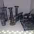 Old timey smashed ruins, scatter terrain, tabletop gaming 28-32mm image