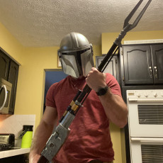 Picture of print of Mandalorian Rifle