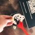 Panda Coffee Stencil image