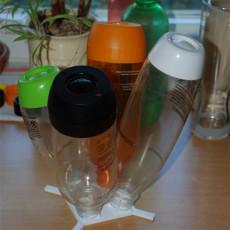 Quadruple Drying Stand for SodaStream PET Bottles