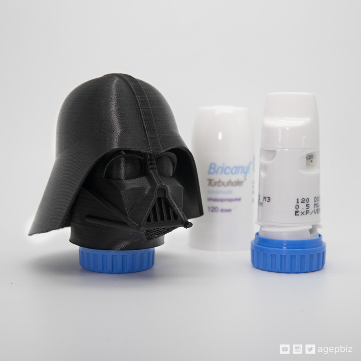 Darth Inhaler - Customized Asthma Inhaler Darth Vader