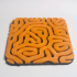 Diffusion Reaction texture// Coaster image