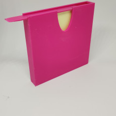 Picture of print of Post it holder 这个打印已上传 ADV3D