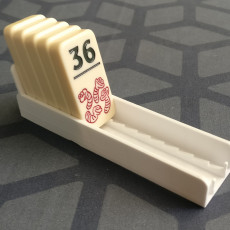 Heckmeck Tile Rack