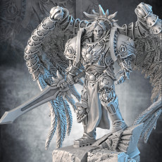 Combat Angel 1 support ready for resin printers