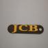 Jcb logo / keychain image