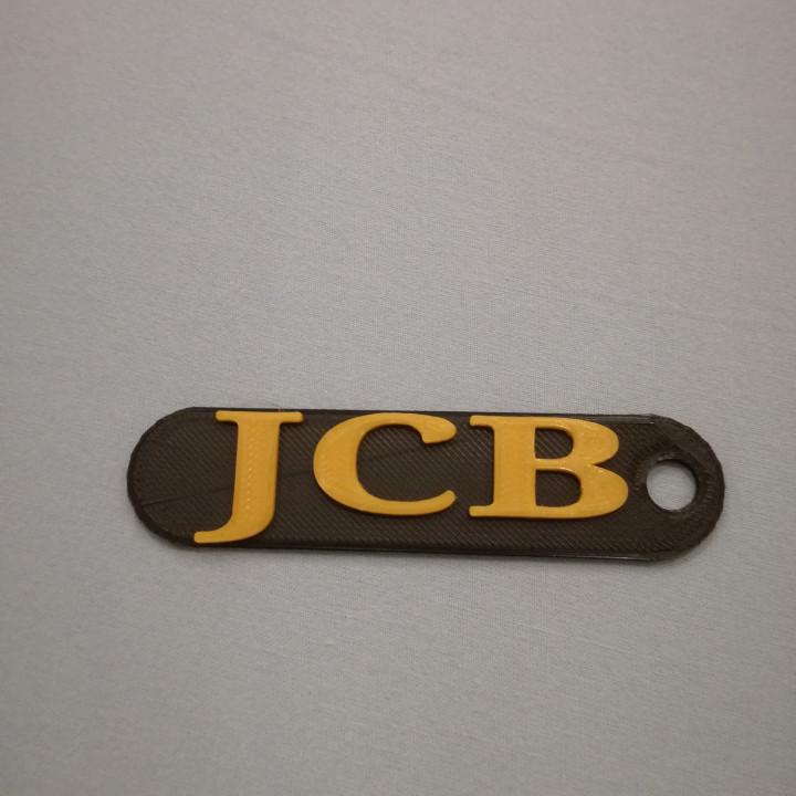Jcb logo / keychain